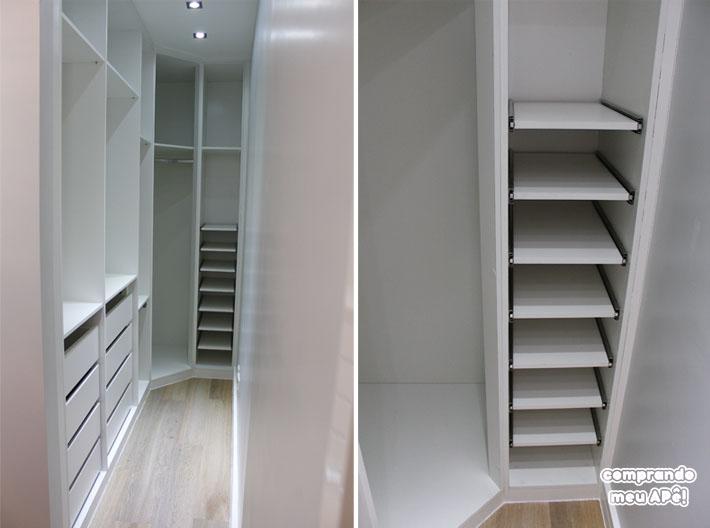 Tour pelo meu Closet planejado + Armário do Escritório e  ~ Quarto Planejado Com Closet