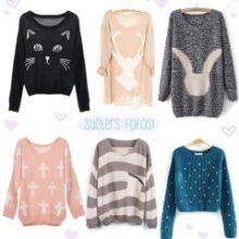Wishlist: suéters fofos!
