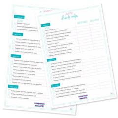 Check List | Lista de tarefas para organizar o casamento