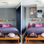 Quartos com camas embutidas