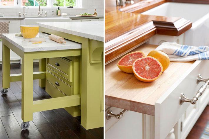 Mesa retratil cozinha pequena id ias do for Mesas pequenas