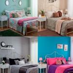Mesmo quarto com 4 decorações diferentes!
