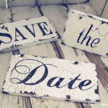 Save the Date | Reserve essa data com muita criatividade!