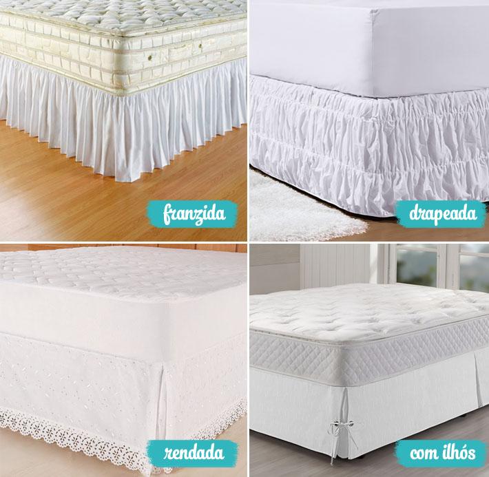 Tipos de saias para cama box comprando meu ap bloglovin for Tipos de cama