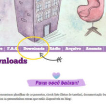 A página de Downloads do blog ficou pronta!