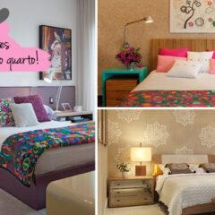 Criado-mudo na decoração de quartos pequenos