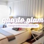 Quarto Glam | Cinza e Branco