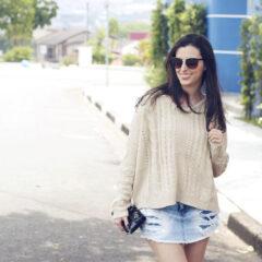 Look de garimpo | Suéters na primavera