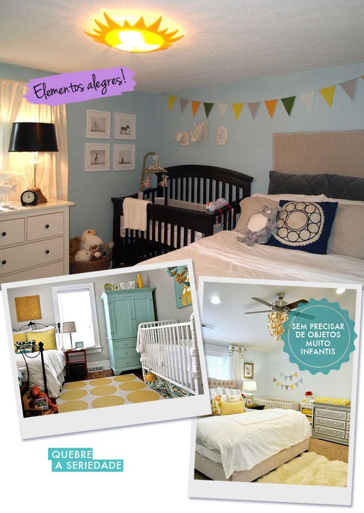 Quarto dividido entre pais e filhos  Como decorar?  Comprando Meu Apê