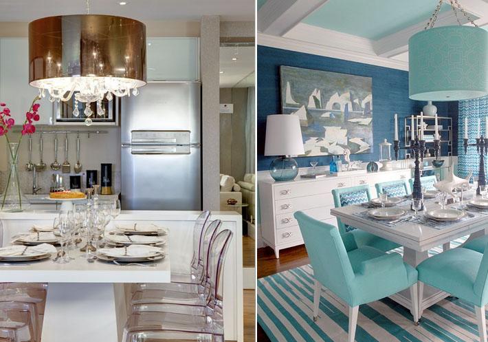 Sala De Jantar E Estar Azul ~ já tenha comprado alguns itens em azul turquesa para a sala de estar