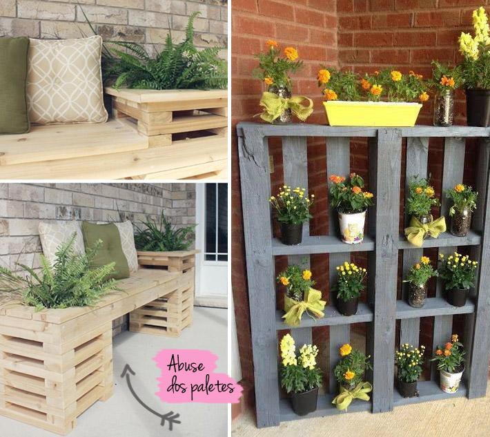 decoracao de jardim gastando pouco:Utilizar objetos que geralmente são usados em outros cantos da casa