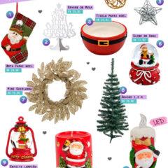 Decoração de Natal | Até 40 reais!