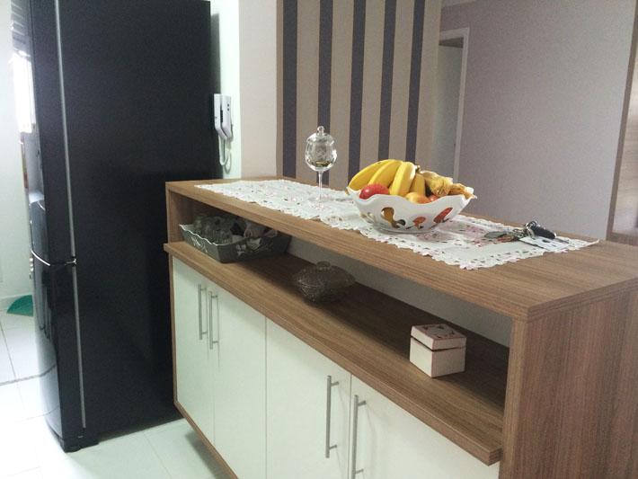 Adesivo De Madeira Para Mesa ~ Apartamento da leitora Cintia Caroci Comprando Meu Ap u00ea