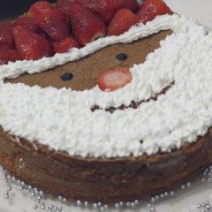 Bolo decorado de Papai Noel | DIY Especial de Natal