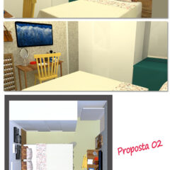 O projeto do quarto da leitora | Consultoria de decoração