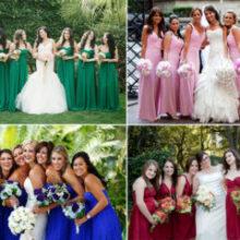 Padrinhos e Madrinhas: cor do vestido e critérios pra convidar