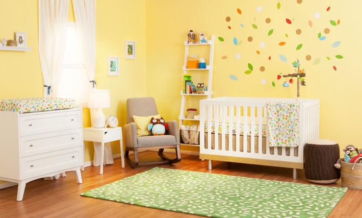 decoracao de quarto de bebe azul e amarelo:Significado das cores na decoração