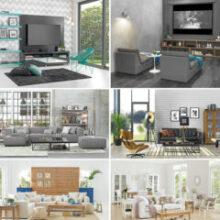 Como montar uma sala confortável e estilosa?