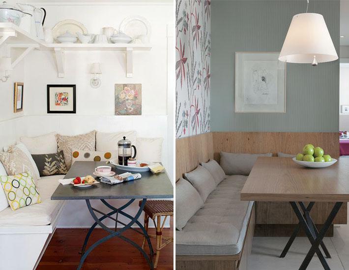 Banco Na Sala De Jantar ~ Canto alemão, banco ou sofá na sala de jantar!  Comprando Meu Apê