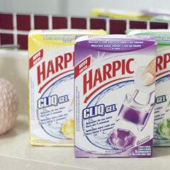 Testando Harpic Cliq Gel | Limpeza do banheiro
