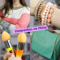 Comprinhas em lojas da China