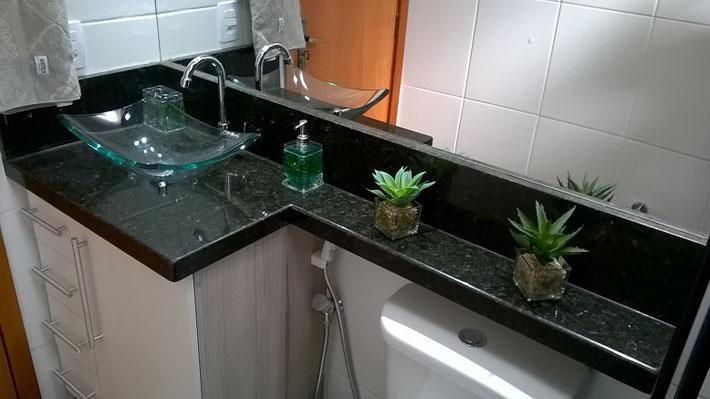 Antes e Depois  Apartamento do Leitor  Comprando Meu Apê  Bloglovin' -> Pia De Banheiro Promocao