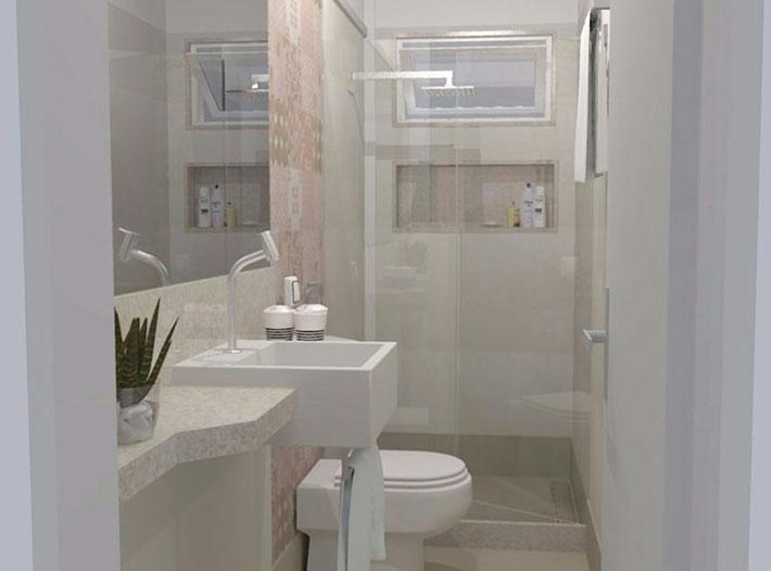 O que fazer em uma reforma de banheiro  Comprando Meu Apê -> Obras Banheiro Pequeno