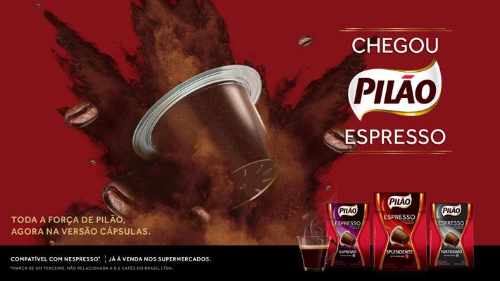 Pilão Espresso Cápsulas