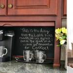 Como montar um cantinho do café?