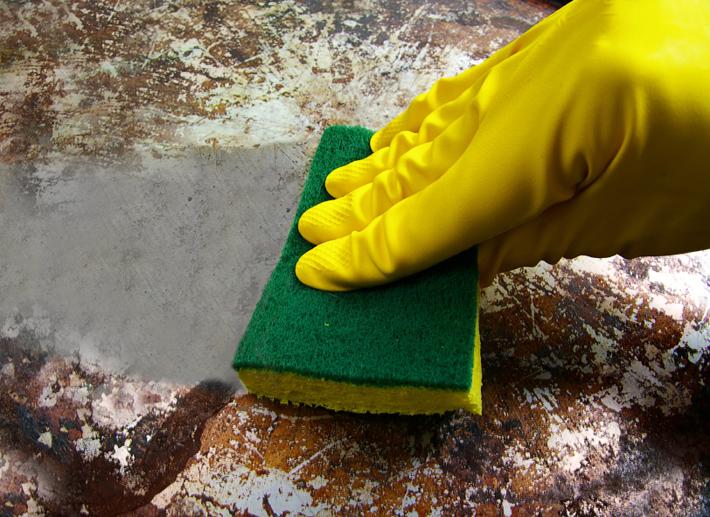 Facilitando a limpeza das panelas
