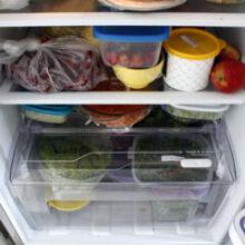 Organizando refeições saudáveis da semana