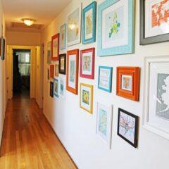 Como decorar paredes com quadros