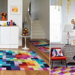 Como escolher tapetes da sala e como combiná-los?