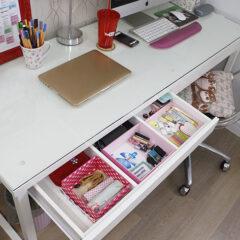 Organização e Faxina (Escritório e cômoda)