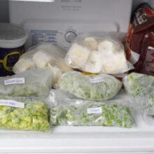 Como congelar alimentos saudáveis | Rotina de dona de casa