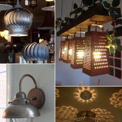 Diferenças entre iluminação moderna, vintage e industrial