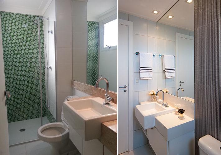 Como organizar banheiros pequenos?  Comprando Meu Apê -> Acessorios Para Decoracao De Banheiro