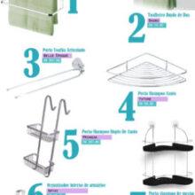 Como organizar banheiros pequenos?