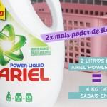 Testando o novo Ariel Power Liquid | Lavar Roupas