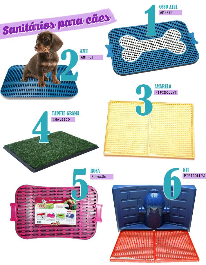 Sanitários para cães