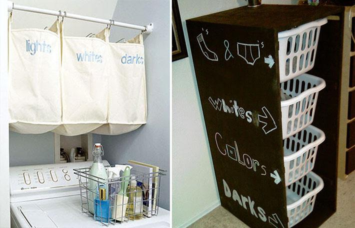 Organizadores para a casa comprando meu ap - Organizador de lavanderia ...