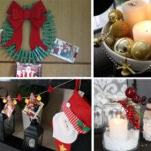 6 ideias de Decoração de Natal | Casas das blogueiras