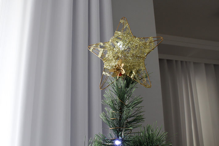 Decoração de Natal do apê