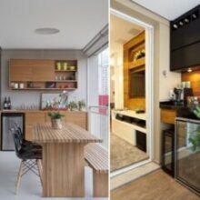 Onde colocar adega climatizada em apartamento pequeno?
