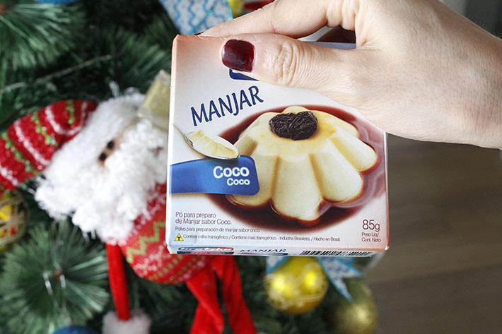 Manjar de coco com ameixa (nunca mais!)