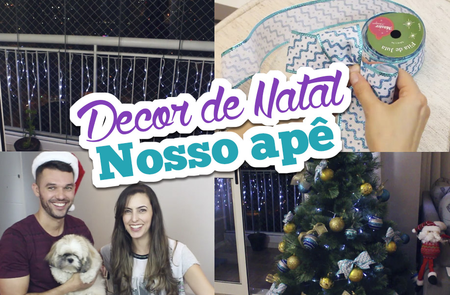 Primeira Decor de Natal do Apê | Bruna Dalcin