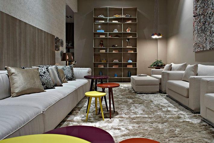 Sala de estar (Como escolher tapete?)