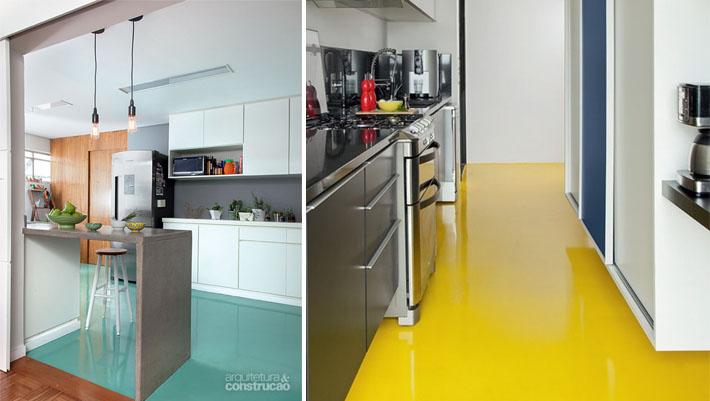 Tinta ep xi para piso e azulejo banheiro e cozinha - Como pintar sobre azulejos ...