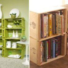 Ideias para decorar com pallet e caixotes