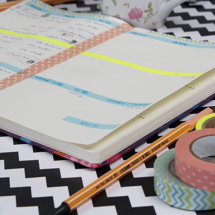 DIY | Customize sua agenda